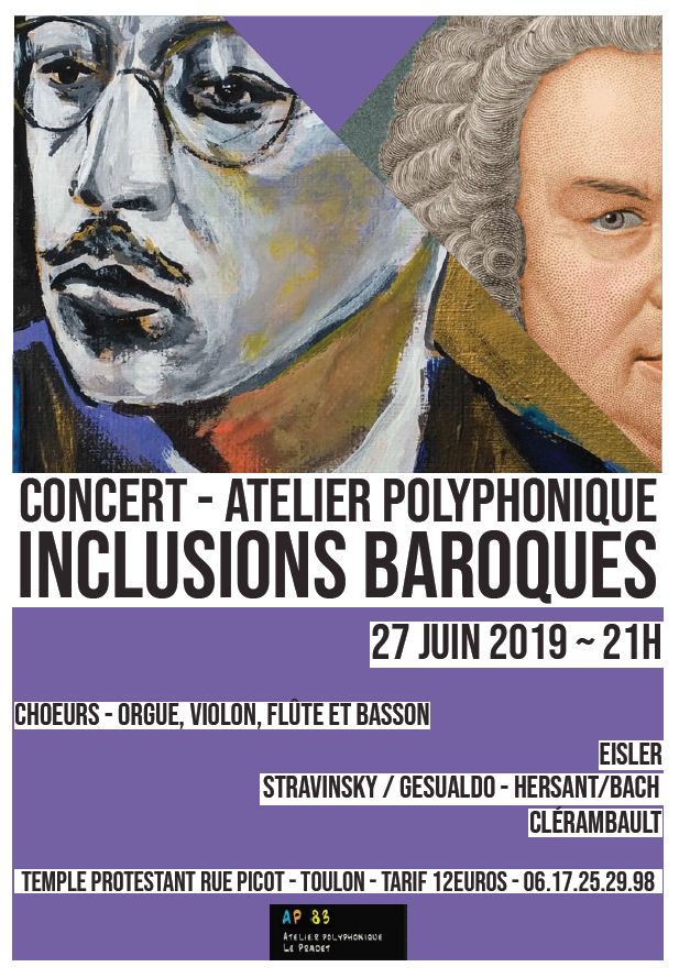 Affiche inclusion baroque